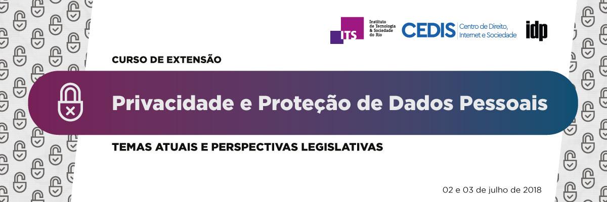 Curso de extensão – Privacidade e Proteção de Dados Pessoais